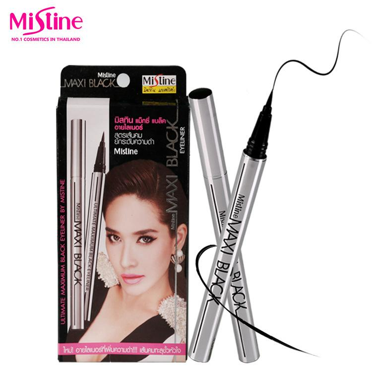 泰国mistine正品 MAXI Black银色眼线液防水不晕染速干持久眼线笔.jpg