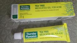 星期四農莊茶樹祛痘凝膠 痘痘肌急救好物